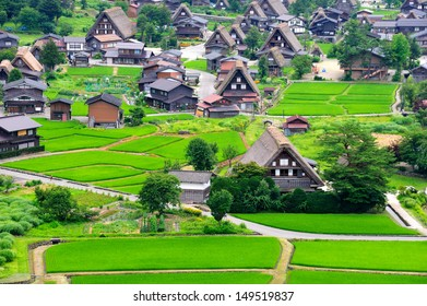 Historical Japanese Village - Shirakawago