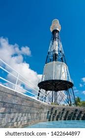 Historical lighthouse in Aracaju, Sergipe, Brasil