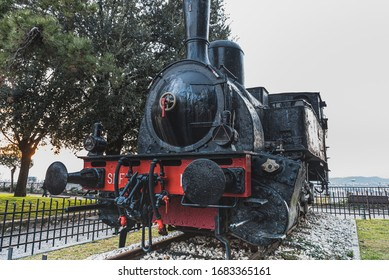 Historical Locomotive Number 1 (locomotiva numero uno) is the first Italian engine of that kind used as a monument. It sits on the Colle Cidneo (Castle hill) in Piazzale del Castello - Brescia, Italy