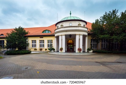 Historical Mineral Water Pump Room and spa in Polanica Zdrój