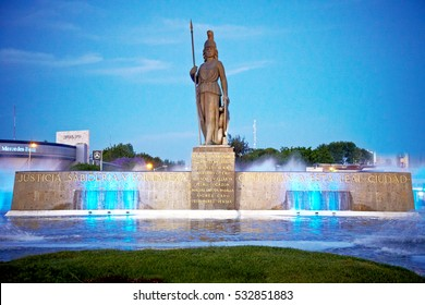 Historical monument in Guadalajara, Jalisco, Mexico