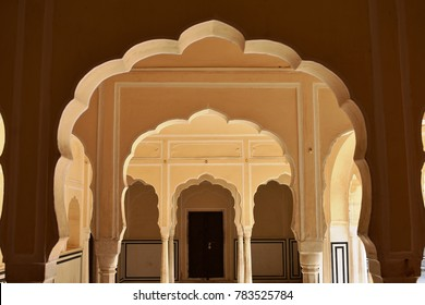 historical monument hawa mahal in jaipur rajasthan india