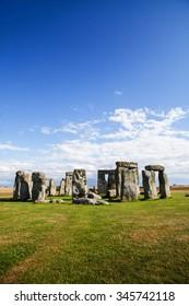 Historical monument Stonehenge in England, UK