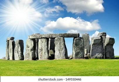 Historical monument Stonehenge,England,UK