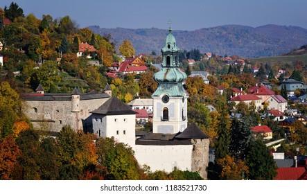 Historical Old Castle - Stary zamok in Banska Stiavnica
