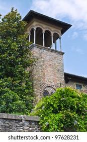 Historical palace. Castell'arquato. Emilia-Romagna. Italy.