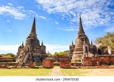 Historical Park, Phra Nakhon Si Ayutthaya, Thailand