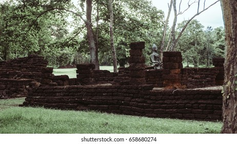 Historical park in Sukhothai, old town