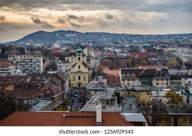 The historical part of Budapest, Catholic Church Havas Boldogasszony
