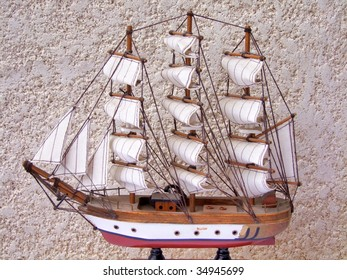 Historical prototype ship