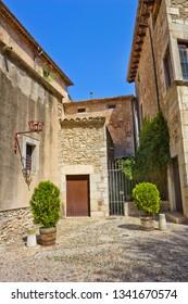 Historical quarter of Girona, Catalonia, Spain