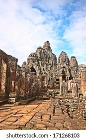 Historical ruins of Angkorwat, Cambodia