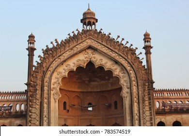 Historical Rumi Gate in Lucknow