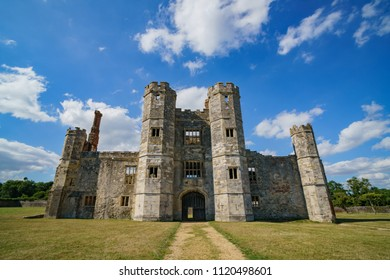 The historical runis - Titchfield Abbey at Titchfield, United Kingdom