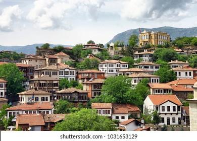 Historical Safranbolu Turkish homes in Karabuk, Turkey
