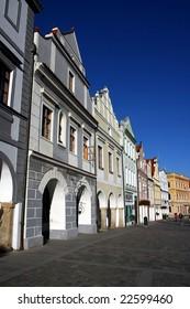 Historical town Trebon, Czech republic