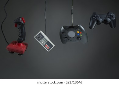 History of the evolution of technological joystick / The evolution of the joystick