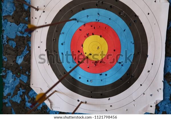 Hit the target, target, arrow
