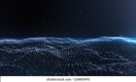 Hi-tech digital terrain head up display for background computer desktop screen display