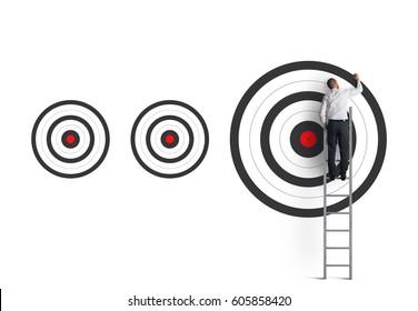 Hitting bigger business target