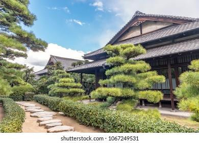 Hiunkaku pavilion of Takamatsu castle in Takamatsu, Japan