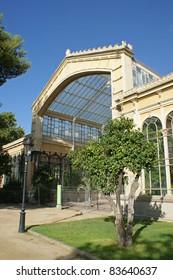 Hivernacle which is a old greenhouse in Parc de la Ciutadella in Barcelona