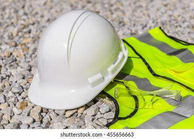 HI-VIS construction safety gear.