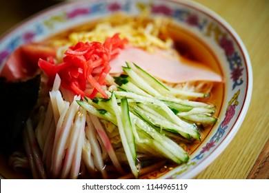 Hiyashi chuka, Japanese cold noodle