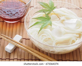 Hiyashi Somen (Japanese Chilled Somen Noodles)