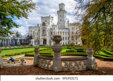 hluboka castle czech republic