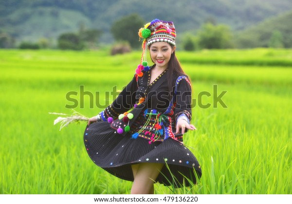 Hmong woman from Laos