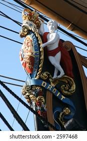 HMS Victory Figurehead Oblique
