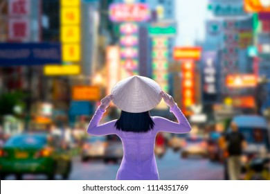 Ho Chi Minh City skyline Vietnam