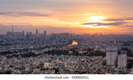 Ho Chi Minh City Sunrise