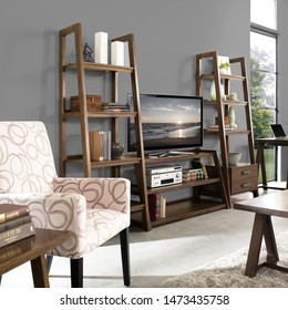 Ho Chi Minh City, Viet Nam - May 26, 2015: The furniture in the living room