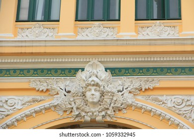 Ho Chi Minh City, Vietnam - February 19, 2018: Saigon Central Post Office  Saigon Central Post Office is one of the French colonial buildings in downtown Ho Chi Minh City