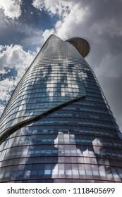 Ho Chi Minh City, Vietnam, June 2018 - Bitexco Financial Tower