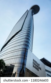Ho Chi Minh city, Vietnam - 2012: Bitexco Financial Tower at district 1.