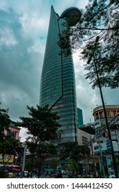 Ho Chi Minh City, Vietnam - October 5 2018: Bitexco Financial Tower in Ho Chi Minh City (also known as saigon), Vietnam.