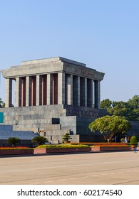Ho Chi Minh Mausoleum in the capital of Vietnam Hanoi