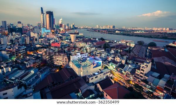 Ho Chi Minh Vietnam Jan 13 Stock Photo Edit Now 362350499