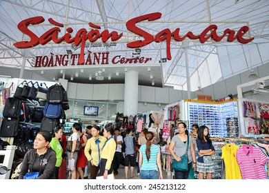 Ho Chi Minh, Vietnam - June 15, 2014.Saigon Square pictured on June 15, 2014 is among popular market and attraction for bargain apparel buyer in Ho Chi Minh, Vietnam.