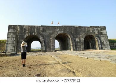 Ho citadel in Vietnam