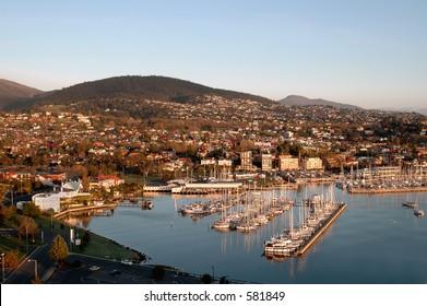 Hobart Harbour Tasmania Australia