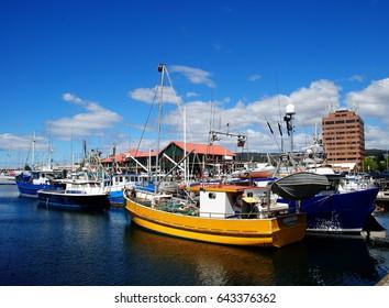 Hobart port.