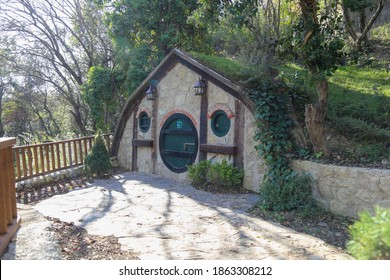 The Hobbit house in darica. Hobbit houses located in darica are located in magnificent nature - Kocaeli, Turkey
