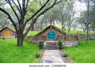 Hobbit house in Darıca. - Kocaeli, Turkey