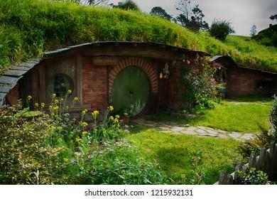 Hobbiton Movie Set - Matamata/Waikato/New Zealand - 08/10/2017
