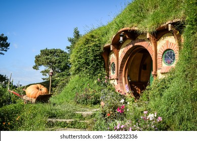 Hobbiton on North Island of New Zealand