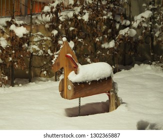 Hobby horse in the wintergarden